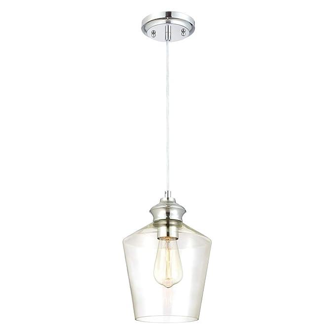 Westinghouse Lighting Lámpara de Techo Colgante de 1 Luz con ...