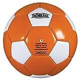 Tachikara Dual Colored Soft PU Soccer Ball, Size 3, Orange/White