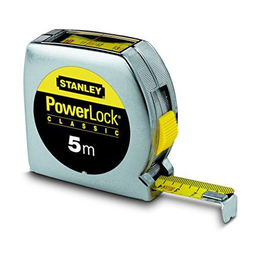 Stanley Powerlock Bandmaß 5m mit Sichtfenster