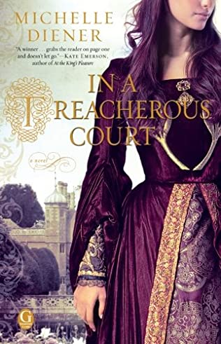 book cover of In a Treacherous Court