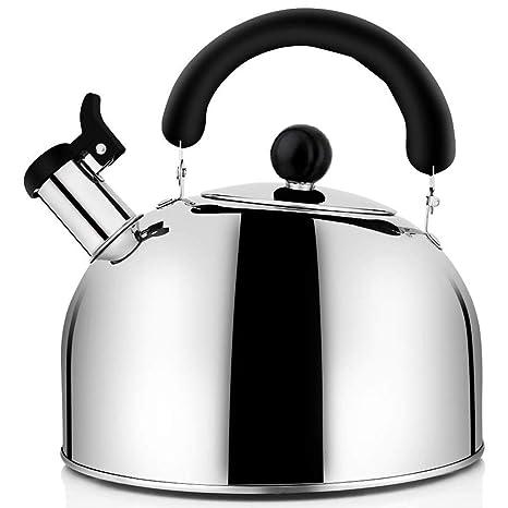 TOOGOO Té Caldera Stovetop Whistling Pot, Teteras de Té de ...