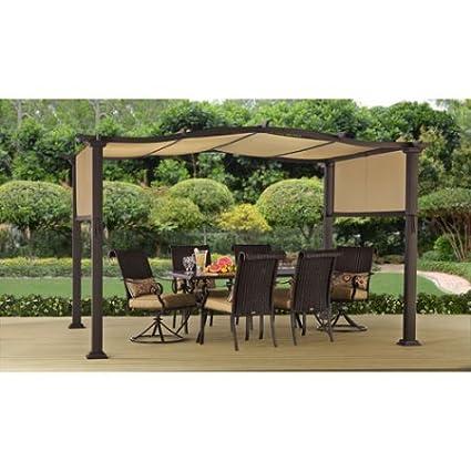 Better Homes And Gardens Emerald Coast 12u0027 X 10u0027 Steel Pergola