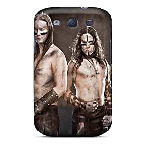 Bumper Hard Cell-phone Case For Samsung Galaxy S3 (gYJ12538NoaJ) Allow Personal Design Lifelike Ensiferum Band Image