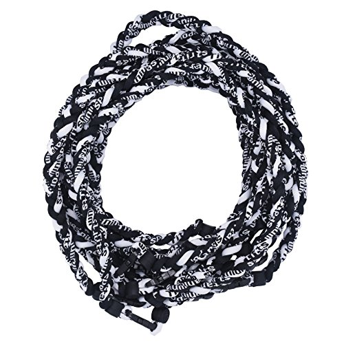 (TOOTO Package of 10 Sport Style Tornado Titanium Necklaces-20