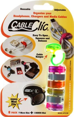 Micro Size Adjustable Cables Clips