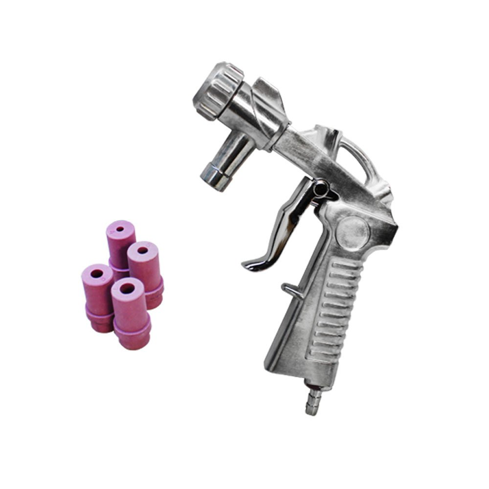 Air Siphon Feed Media Sandblaster Blast Gun Siphone Air Gun Ceramic Nozzles