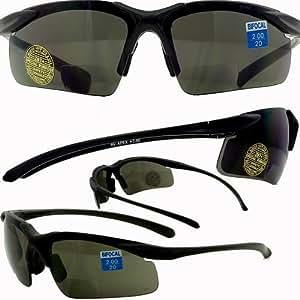 Apex Bifocal Safety Glasses UV400 Magnifying Reading ...