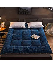 Tatami matras, melk kasjmier Japanse vloer matras opvouwbare winter zachte dikke futon matras voor slaapkamer