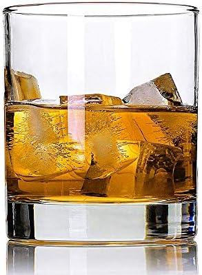 Lplpol Uncle Est. 2021   Rocas decorativas de vidrio de 8 onzas o vidrio de moda antigua, refranes grabados, regalo del día del padre y revelación del bebé