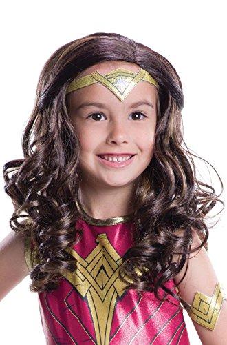 Rubie's Dawn Of Justice Child Wonder Woman Wig