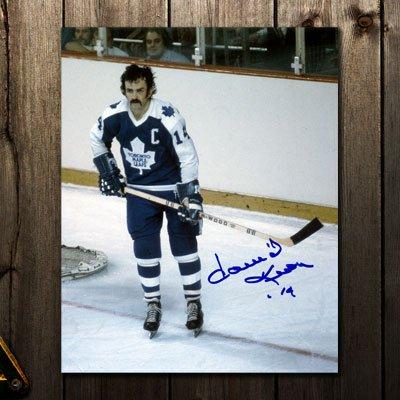 Dave Keon Toronto Maple Leafs CAPTAIN Autographed 8x10
