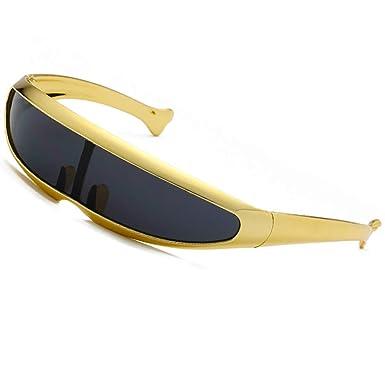 SHEEN KELLY Futurista Cíclope gafas de sol Para cosplay ...