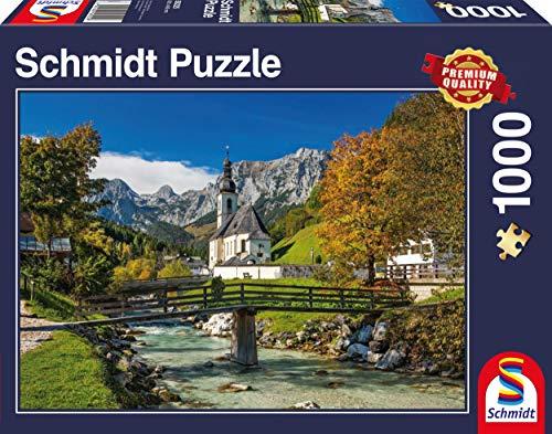 Schmidt Spiele Ritteralpe Ramsau Puzzle (1000 Piece) ()