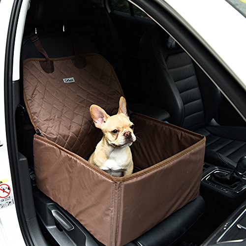 Water-proof Pet Car Seat Cover Dog Cat Puppy Seat Mat Blanket Black - 2