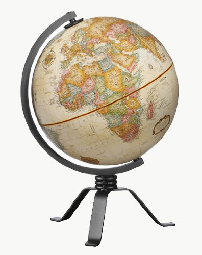 Replogle Globes Mackie Globe, Small, Off/Off/White ()