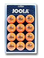 JOOLA Tischtennis-Bälle Training 40 orange 12er Blister