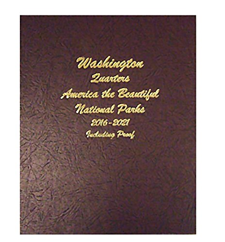 Dansco Us National Parks Quarter With Proof And Silver Proof Volume Ii Coin Album 2016   2021  8147