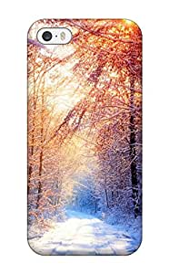 Hot Style IyZlPyf5558qXsBH Protective Case Cover For Iphone5/5s(winter Sun)