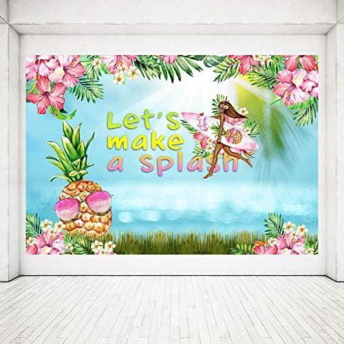 Amazon.com: MEHOFOTO Telón de fondo de verano Aloha ...