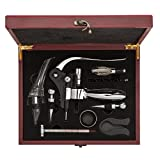 Premium Wine Gift Set – Unique Bottle Opener Corkscrew All-in-one Accessories Set for Wine Lovers. Perfect for Hostess, Housewarming, Wedding and Anniversary Gifts For Sale