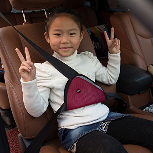 ISKIP Car Seat Belt Buckle Safety Strap Lock Tite Harness Chest Clip Safe