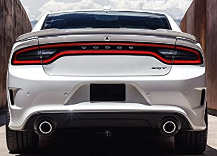 California Dream 2015 2016 2017 2018 Dodge Charger Factory Hellcat Spoiler  Painted (Gloss Black PX8