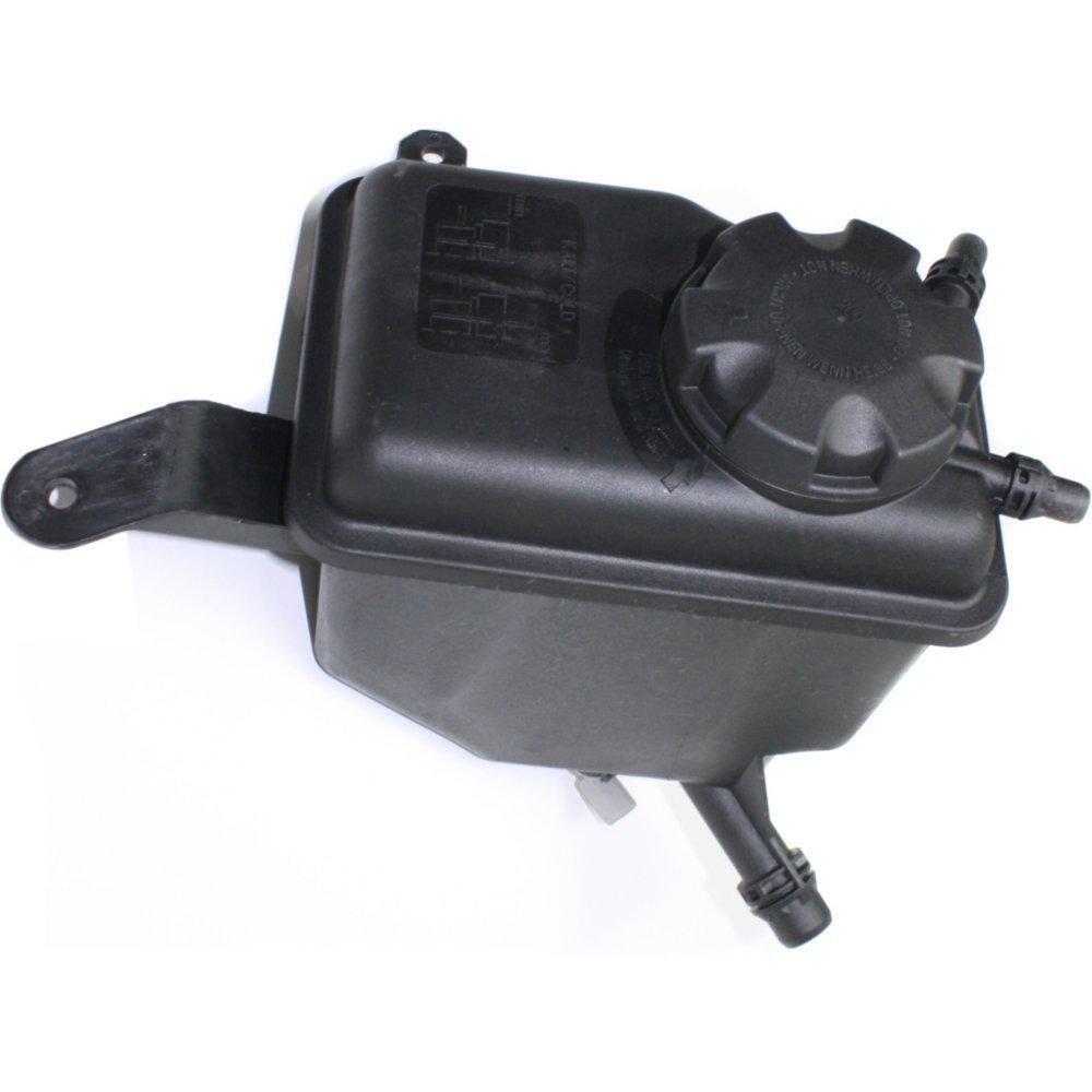 Evan-Fischer EVA11872053387 Coolant Reservoir Expansion Tank for 5-Series 04-10 Sedan/Wagon Plastic With cap; Without level sensor Replaces Partslink# BM3014107