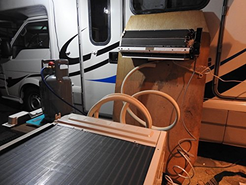 【実用新案】キャンピングカー、マイクロバス専用の車体下に取り付け可能な日本製のエアコン camping car eacon