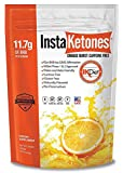 InstaKetones® Orange Burst 11.7g GoBHB® Per Scoop (Caffeine Free) (15 Servings) Exogenous Ketones .62 lbs