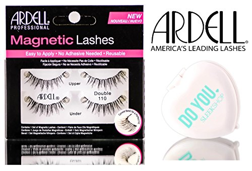 Ardell Professional Magnetic Lashes (with Sleek Compact Mirror) (DOUBLE 110)
