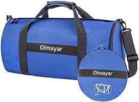 Duffle Bag Dimayar 60L Travel Duffle Bag for Men&Women Waterproof Duffle Black