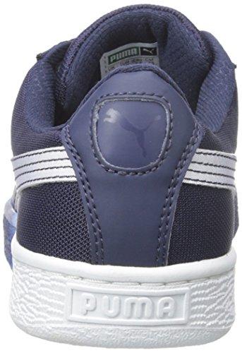 Puma Basket Klassiker unter den Mesh Fade Sneaker Peacoat