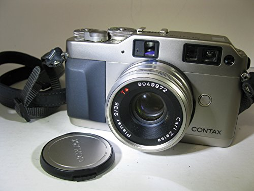 Carl Zeiss Contax G1 Camera Green Label with Contax 35mm Plannar and 90mm Sonnar -