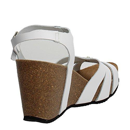 Grunland SB0615-70 Sandal Women White Qpj8iAQHH