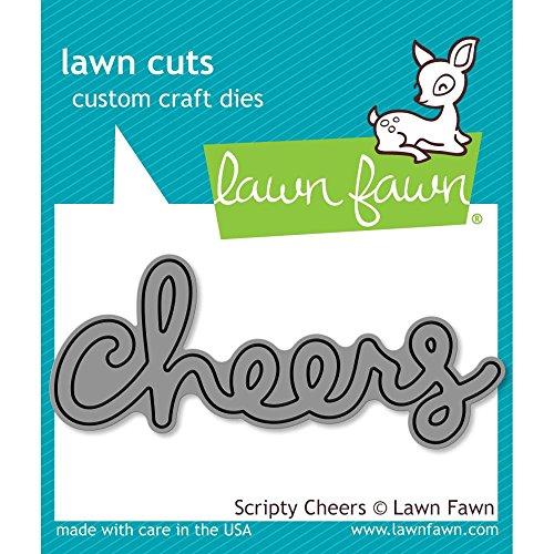 Lawn Fawn Lawn Cuts Custom Craft Die - LF991 Scripty Cheers ()