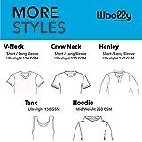Woolly Clothing Women's Merino Wool V-Neck Tee