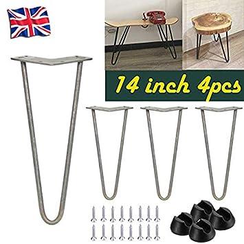 4 patas de mesa de horquilla de 2814 pulgadas para muebles, bancos ...
