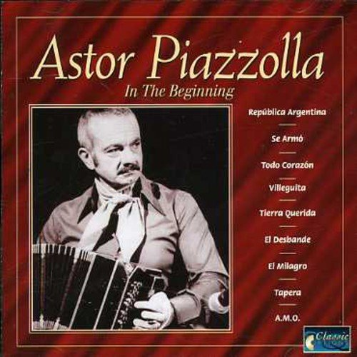 CD : Astor Piazzolla - In the Beginning (Holland - Import)