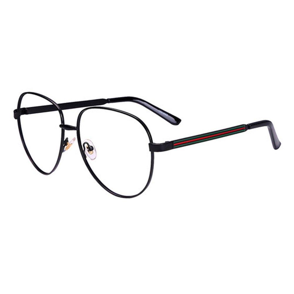 Juleya Lunettes de vue Aviateur pour des hommes femmes - Mode Montures de  lunettes 1229YJJ04 X171229YJJ0403 870710d903af