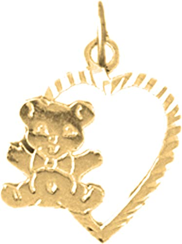 Rembrandt Charms Two-Tone Sterling Silver Deer Head Charm on a Sterling Silver 16 18 or 20 inch Rope Box or Curb Chain Necklace