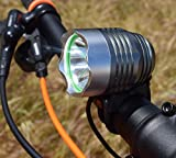 Go Bright Rechargeable 1200 Lumen Rechargeable Road, Mountain Bike Headlight, New 6400 mAh Battery-3 Plus Hours on High Beam with Free Taillight Review