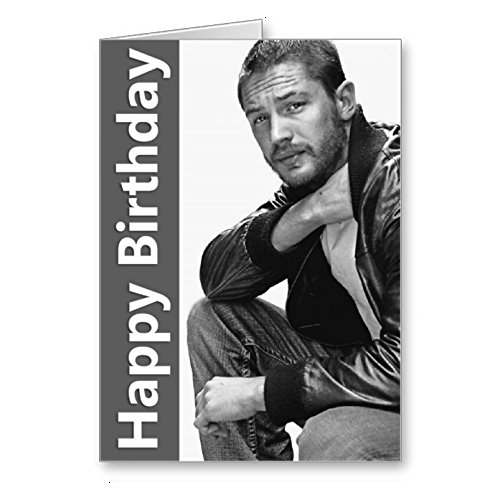 Tom Hardy Birthday Card Amazoncouk Office Products