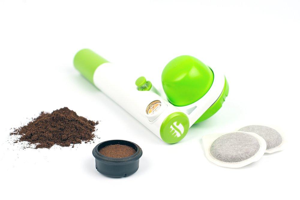 Handpresso 48269 Macchina da caffè Portatile, Verde Mela HPPUMPPOPGRN