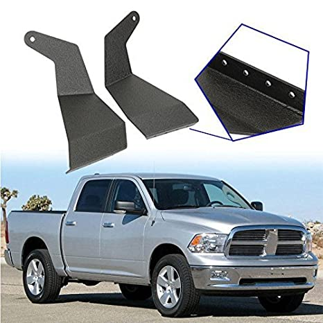 Amazon auxmart 52 upper windshield mounting brackets straight auxmart 52 upper windshield mounting brackets straight light bar for 2009 2014 dodge aloadofball Gallery
