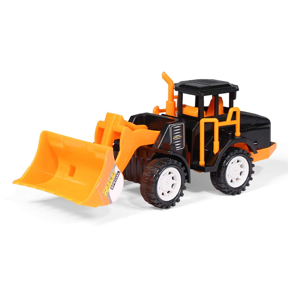 SH NGP Oversized Simulation Engineering Fleet Excavator Set Excavator Inertia Toy car Children's car Tools 6 Vehicles Road Roller for Kids Age 3+