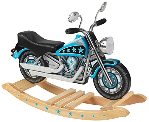 KidKraft Star Studded Rockin' Motorcycle