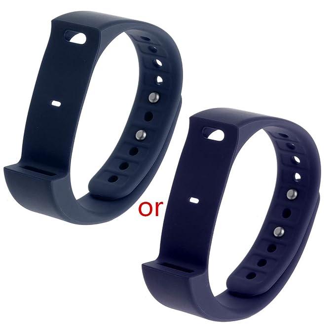 Amazon.com: MEIYIN Smartwatch Bands Replacement TPU Band ...