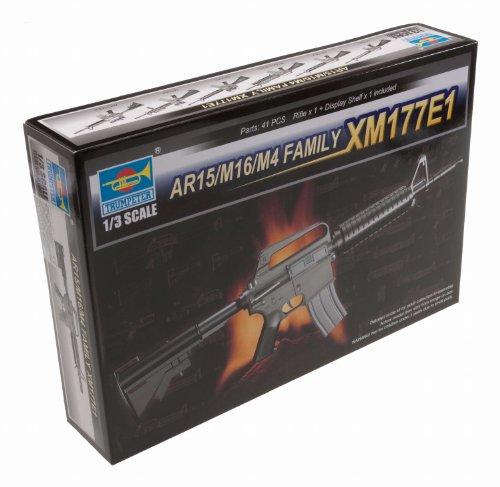 Trumpeter 1/3 AR15/M16/M4 Family XM177E1 Machine Gun (Ar 15 Rear Takedown Pin Detent Spring)