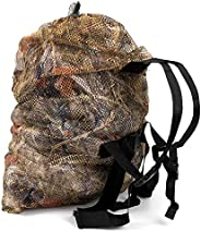 GUGULUZA Camo Mesh Decoy Bags with Shoulder Straps - for Hunting Duck/Goose Waterfowl Backpack(L Size)