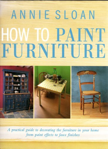 how to paint furniture - 1